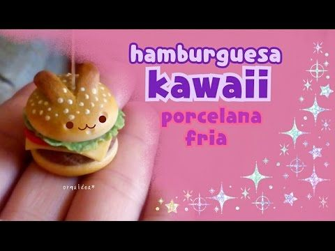 Kawaii Bunny Bun Hamburger clay charm tutorial