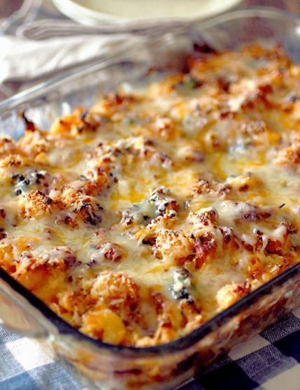 Cauliflower Recipes: Chicken Broccoli Casserole
