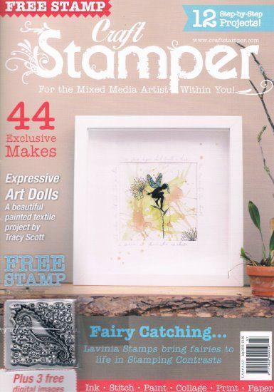 Craft Stamper July 2016