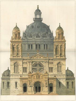 ✽   study for church  -  richard phene spiers  -  1887 -   royal academy