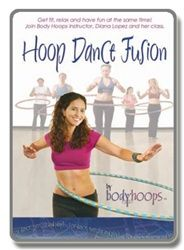 Price: $19.99  Sale Price: $14.99  You save $5.00!  Hoop Dance Fusion DVD    Join Diana Lopez and her class to get fit, relax, and have fun! This DVD includes six clear and easy hula hoop lessons with a grooving beat, and a collection of cool hula hooping scenes you can join in on.  Save when you order with one of our hula hoops (click on discounted DVD).  Order a hoop to get the option to add a discounted dvd.