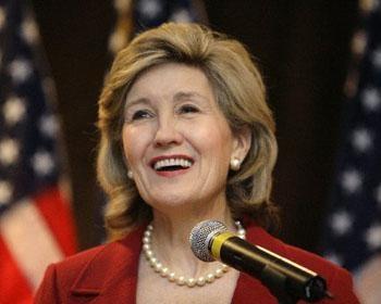 Senator Kay Bailey Hutchison  R-Texas