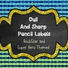 Use these to organize which pencils are sharp and which need to be sharpened.   Other Products:  Writing Process Posters  Basketball Rounding Game ...