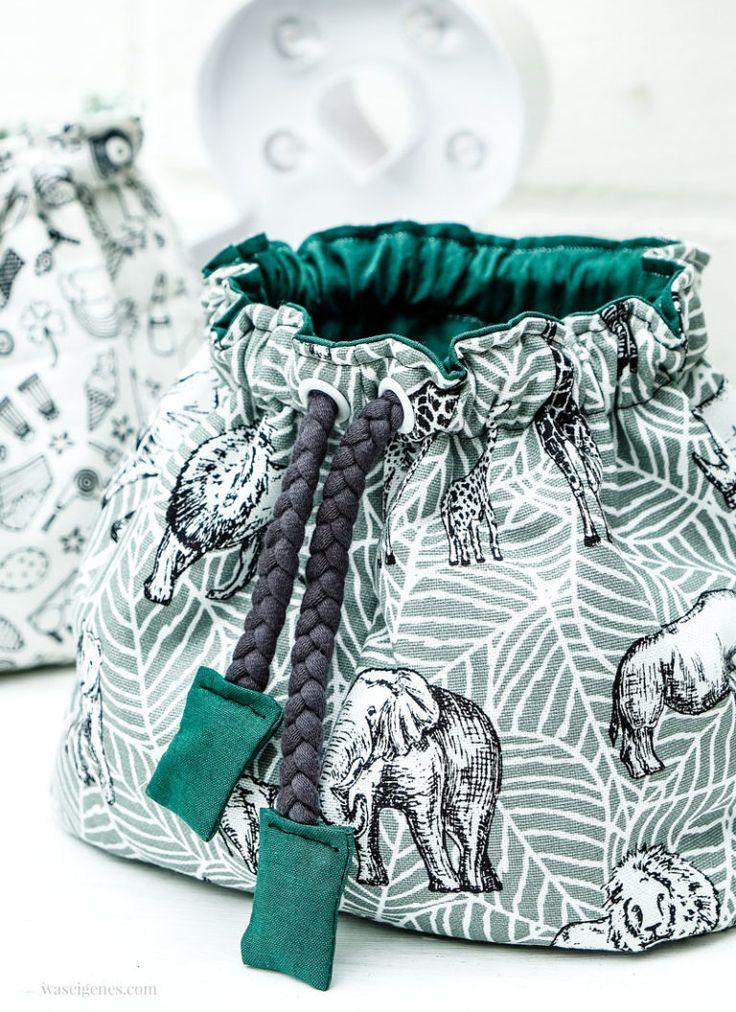 Nähanleitung: Pompadour-Stofftasche – Schritt-für-Schritt-Fotos   – Taschen