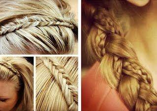 Tranças!  Saiba mais aqui :https://sites.google.com/site/cabelos2015/penteados/trancas