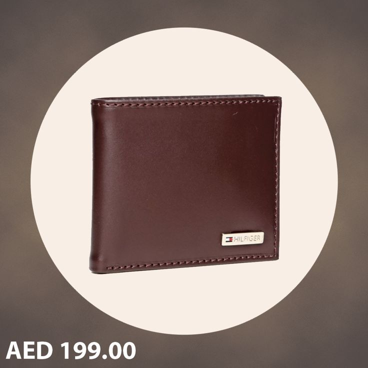 Tommy Hilfiger Men's Fordham Passcase Billfold Wallet-Brown. #Mens #Wallets #Timberland #TommyHilfiger #online #shopping #Menakart