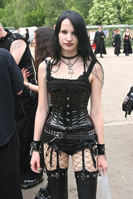 Hot Gothic Girl My Style Pinterest Gothic Girls Gothic And Girls