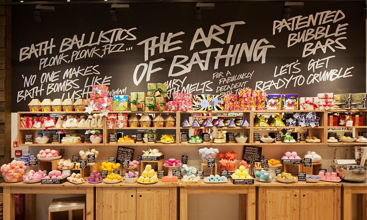 A Review of Lush Cosmetics Bath Products