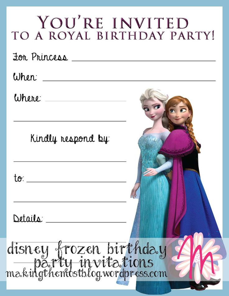 Best 25 invitation cards online ideas on pinterest online party frozen birthday party invitations as your chosen beautiful party invitation media 8 stopboris Images