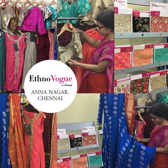 Ethnovogue Store Anna Nagar Chennai Cbazaar Fashion Blog Stunning Outfits Fashion Blog Chennai