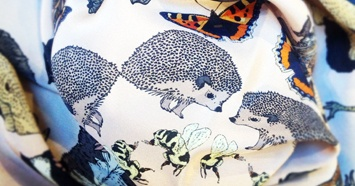 Quintessentially English - AW12 Silken Favours scarf