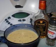 Recette Sauce au poivre et au cognac par solmar - recette de la catégorie Sauces, dips et pâtes à tartiner