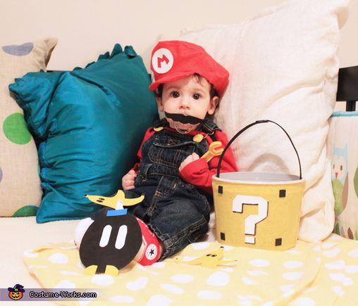 Super Mario Baby Costume - 2013 Halloween Costume Contest via @costumeworks