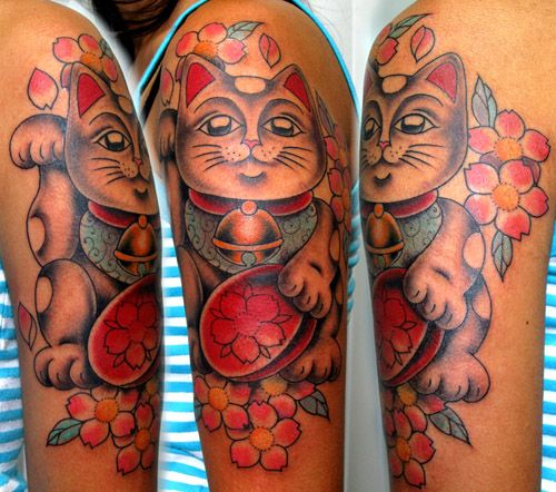 21 best images about tattoo ideas for je on pinterest cats donald o 39 connor and lucky cat tattoo. Black Bedroom Furniture Sets. Home Design Ideas