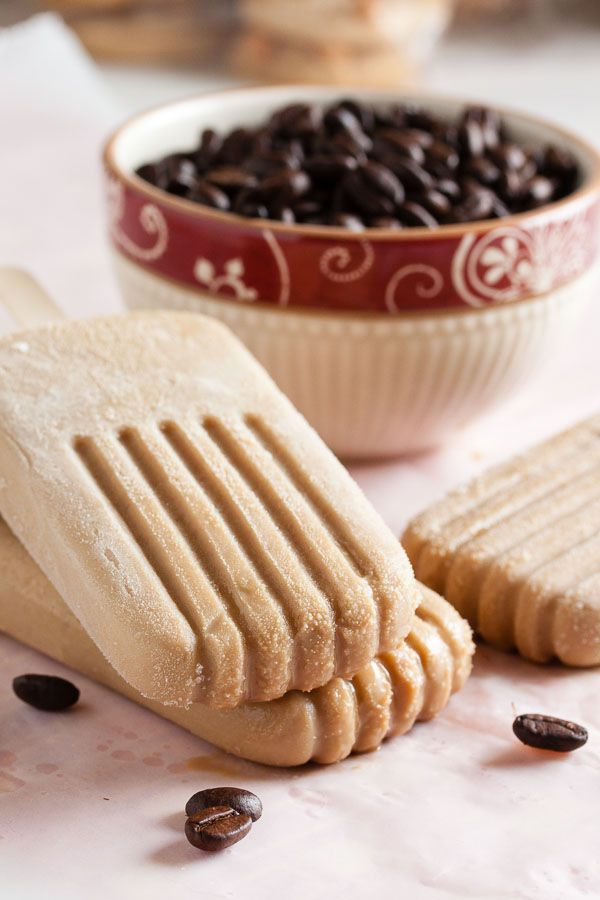 Sweet, creamy, Vietnamese iced coffee popsicles – perfectly refreshing on a sunny day.