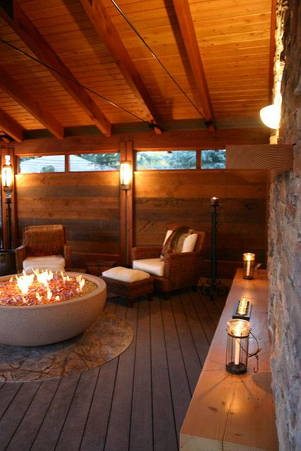 Indoor Fire Pit : Indoor fire pit i like the big concrete container