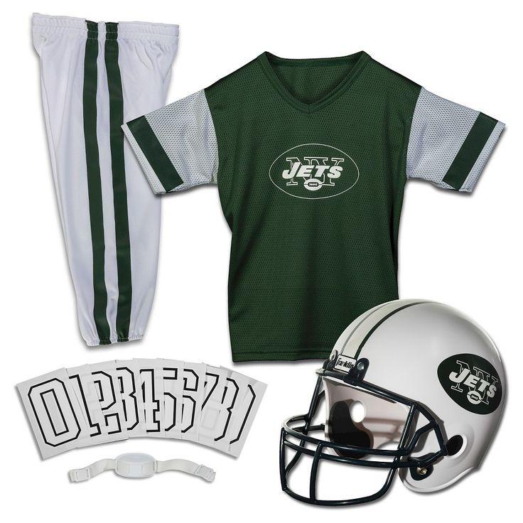 Franklin Sports NFL New York Jets Deluxe Uniform Set