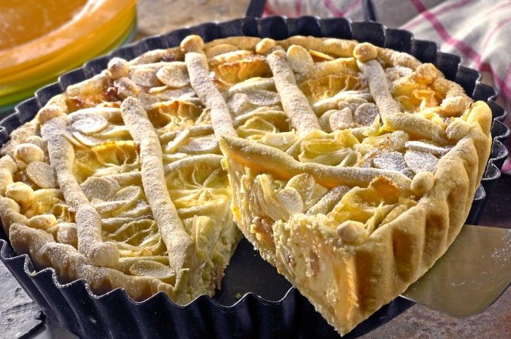 Citronový koláč s tvarohem