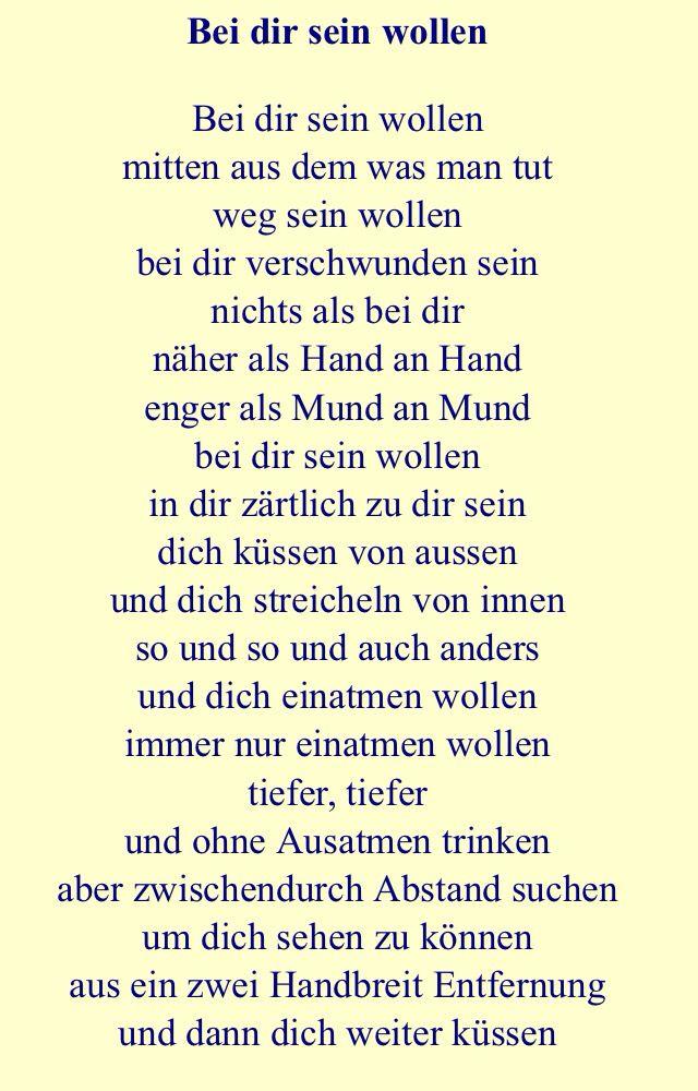 Wollen. Erich Fried