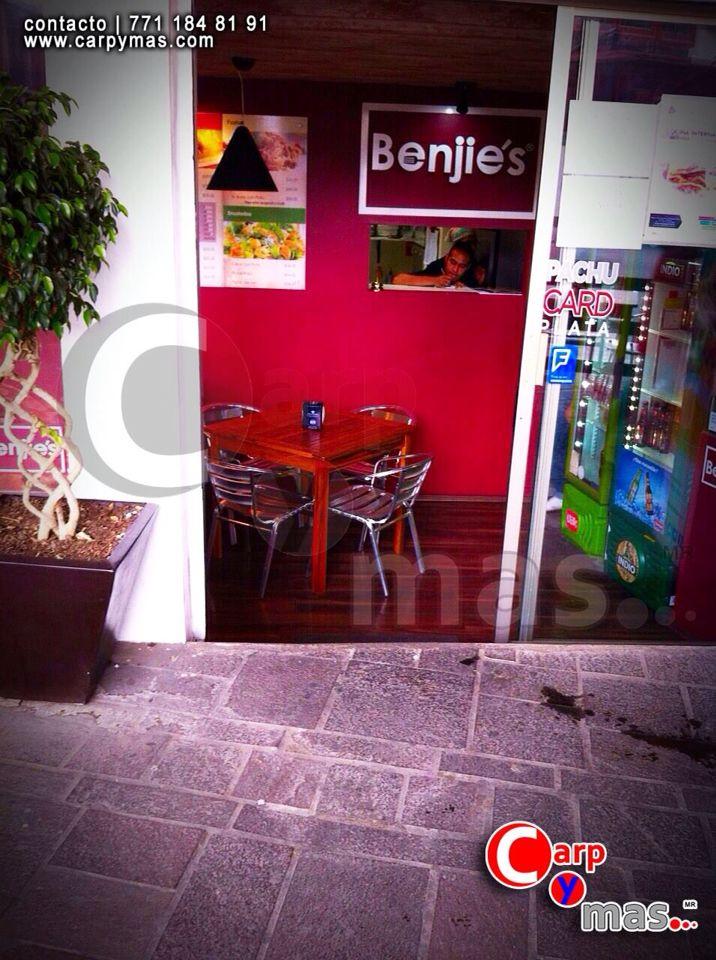 Mesa para empresa de cafetería #Benjie's México #Pachuca