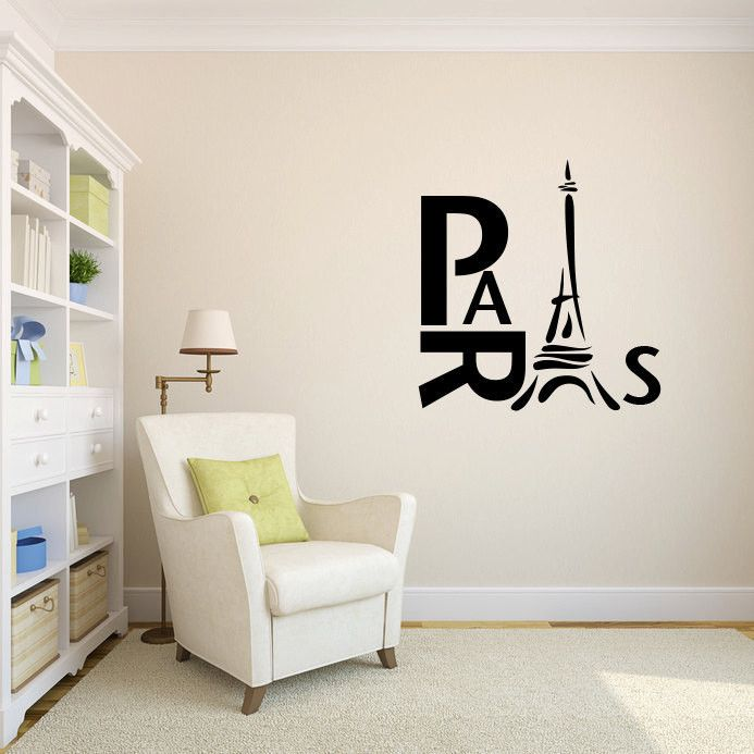 Best Eiffel Tower Wall Decal Ideas On Pinterest Paris - Custom vinyl wall decals cheap how to remove