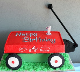 Invite and Delight: Red Wagon First Birthday!