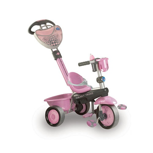 Nov 07,  · This fantastic smart trike comes in a cute design and is ideal for your growing child. It starts off as a trike with the parent handle and then converts to a ride on trike when your child gets older.