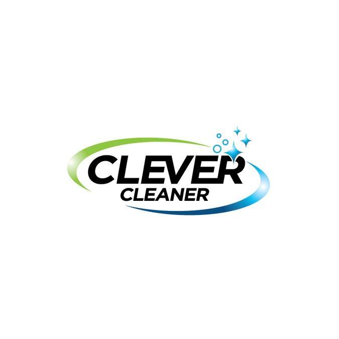 Logo f眉r Reinigungsfirma