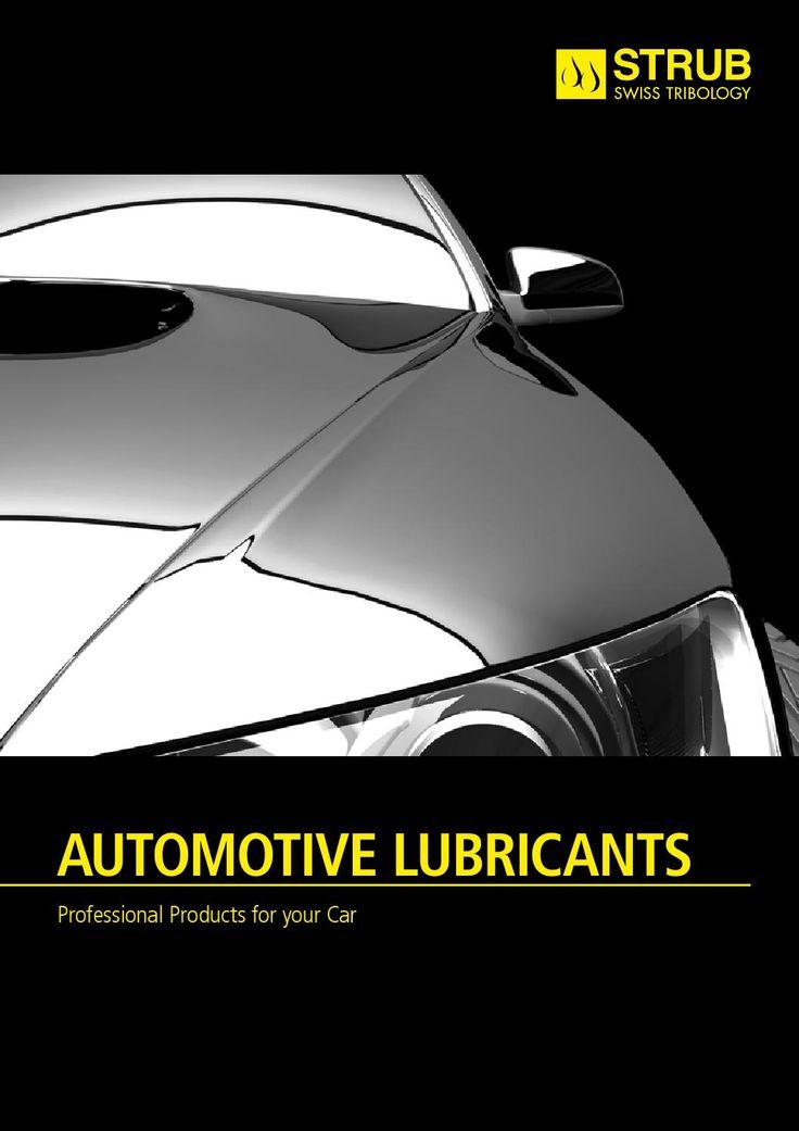 ISSUU - Strub Automotive Lubricants by Strub Swiss Tribology