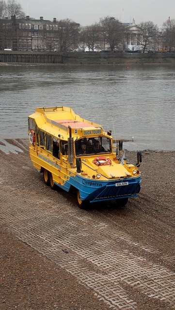 london duck tours (DUKW) Cleopatra /17/1/2013/ by philip bisset, via Flickr