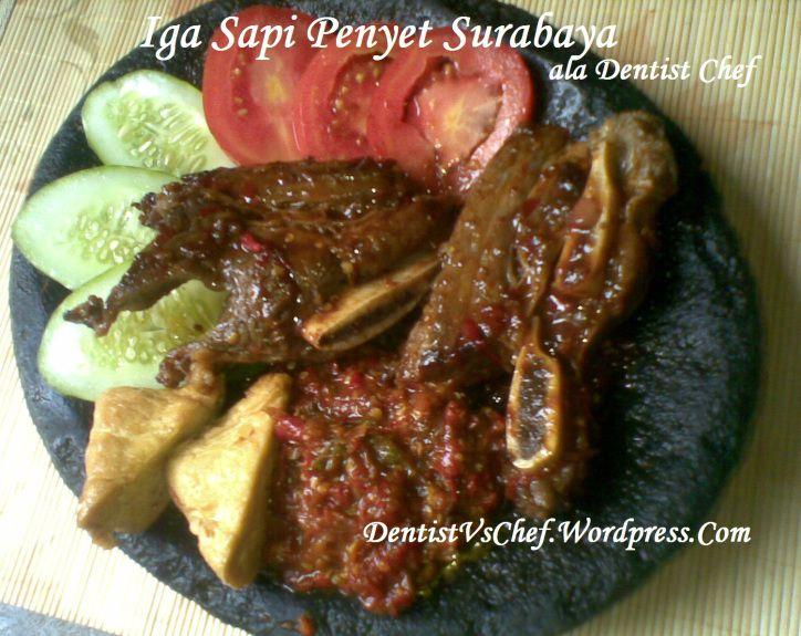 Braised Beef Short Ribs in Red Curry (Resep Iga Sapi Kuah Kari)