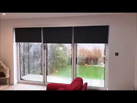 Do you need blinds for your Bifold Doors? well Radiant Blinds supply and install the very best Electric and Battery blinds in the UK
