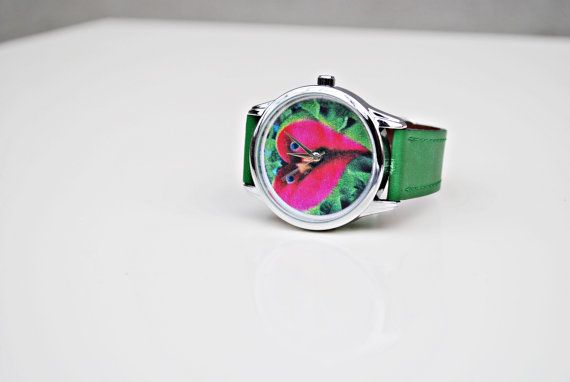 Check out this item in my Etsy shop https://www.etsy.com/listing/480875898/woman-watch-green-wrist-watch-birthday