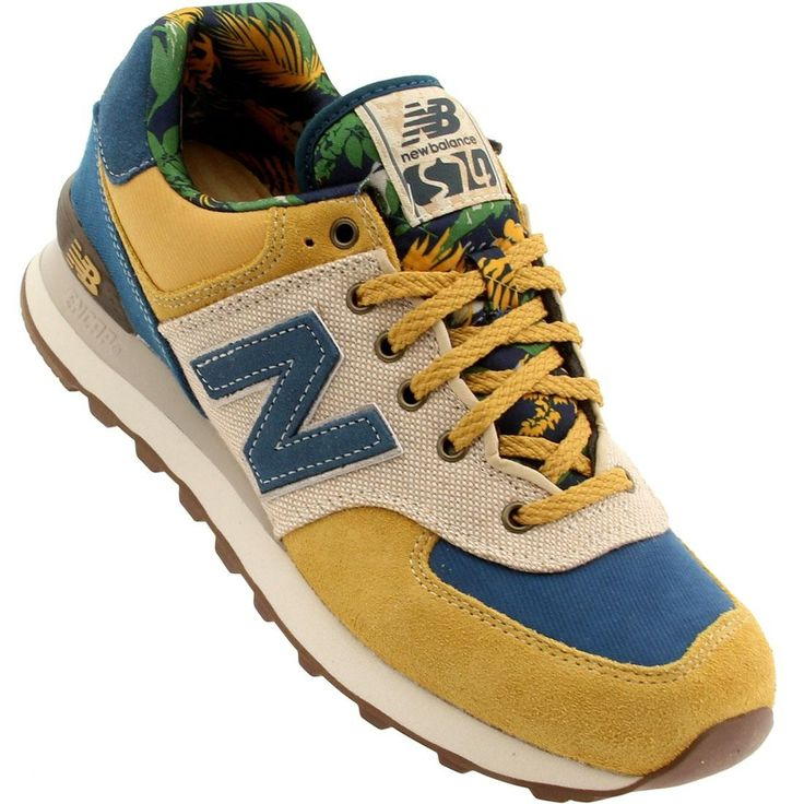 New Balance Men ML574OHY gold hyper gold