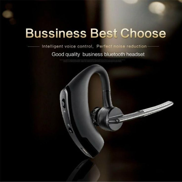 Wallmart.win Nosie Cancelling Wireless Bluetooth 4.1 Earphone Sport Headset with Microphone Earhook Earbuds for iPhone Samsung Android Phone