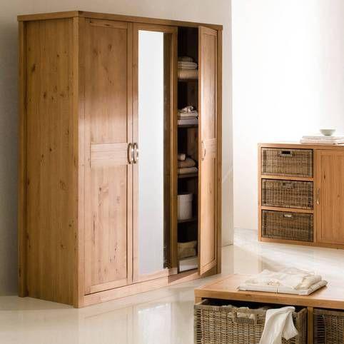 Les 25 meilleures id es concernant armoire penderie pas cher sur pinterest - Armoire bois massif pas cher ...