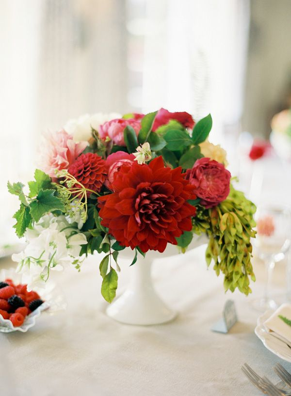 Ideas about dahlia centerpiece on pinterest