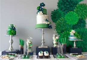 Green, Glorious Green: Inspiration for a St. Patrick's Day Dessert Table