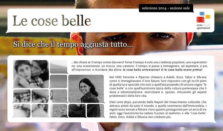 LE COSE BELLE di Agostino Ferrente e Giovanni Piperno