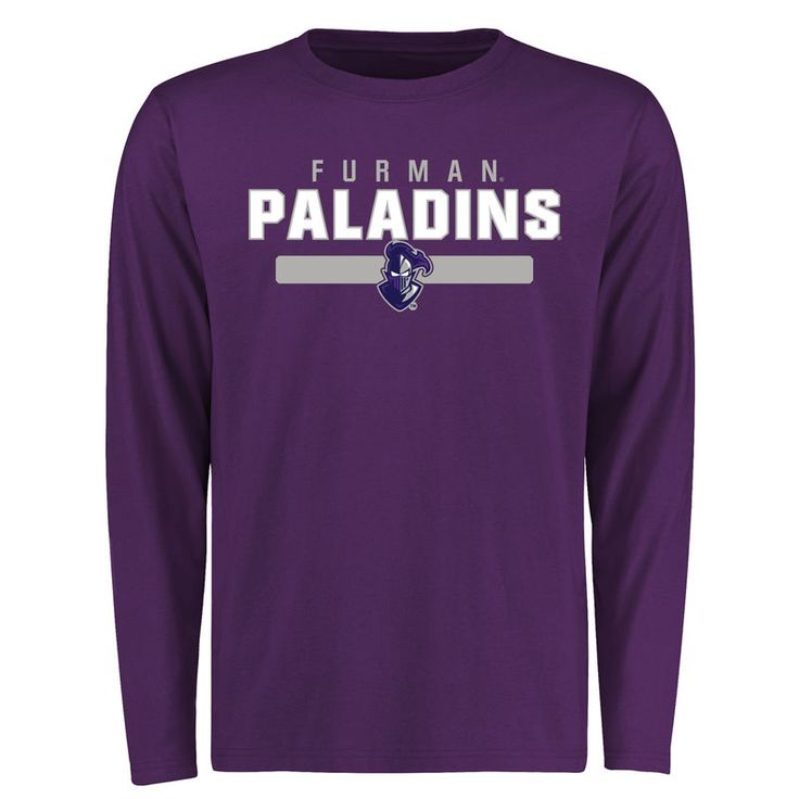 Furman Paladins Team Strong Long Sleeve T-Shirt - Purple