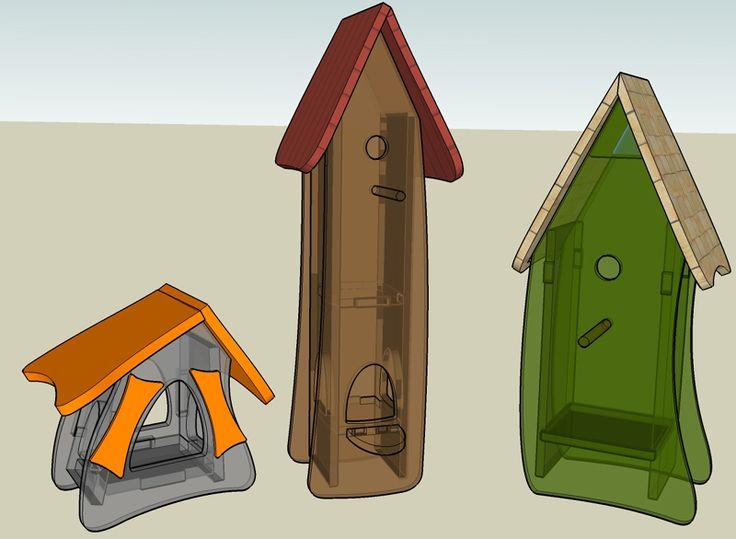 oltre 25 fantastiche idee su vogelhaus selber bauen su. Black Bedroom Furniture Sets. Home Design Ideas