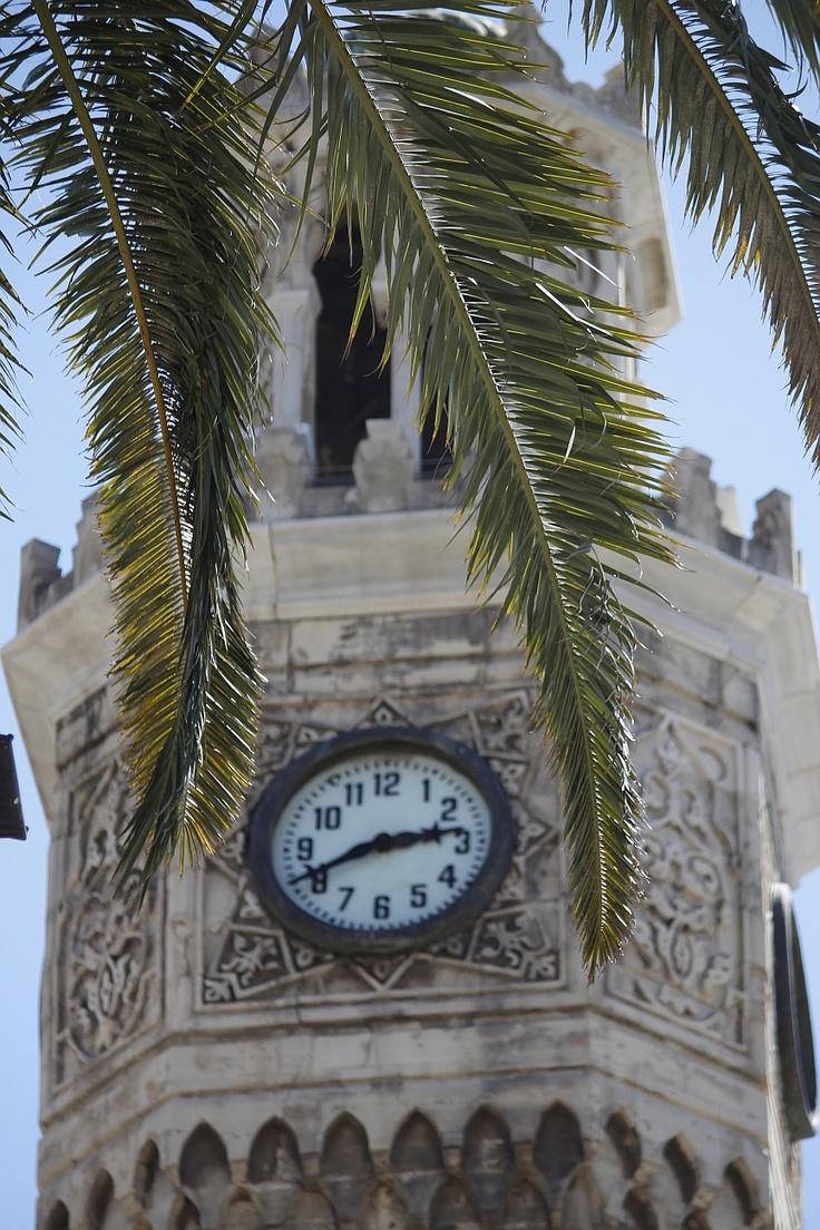 Saat Kulesi (Watch Tower) Konak / İzmir, Türkiye, Turkey