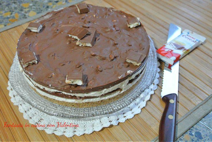 Cheesecake+kinder+cereali