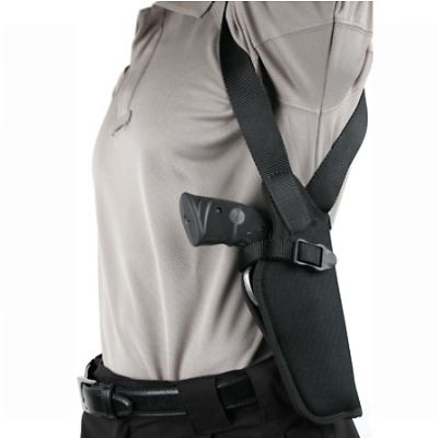 Blackhawk Vertical Shoulder Holster Right Hand Black - 2-3in BBL : 40VH00BK-R