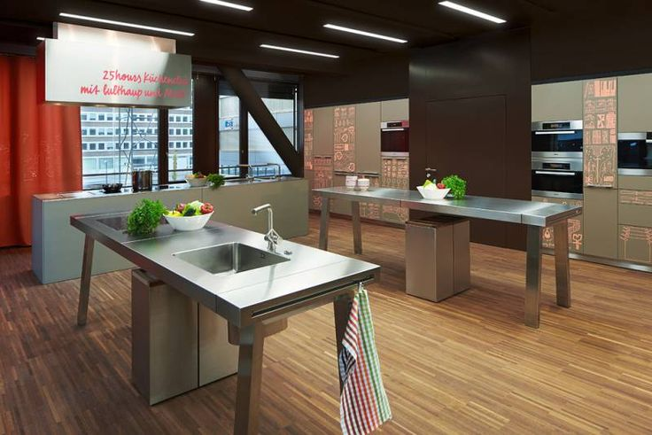 Tagungsraum & Evenfläche Bulthaupküche Meeting Room and Event space Bulthaup Kitchen