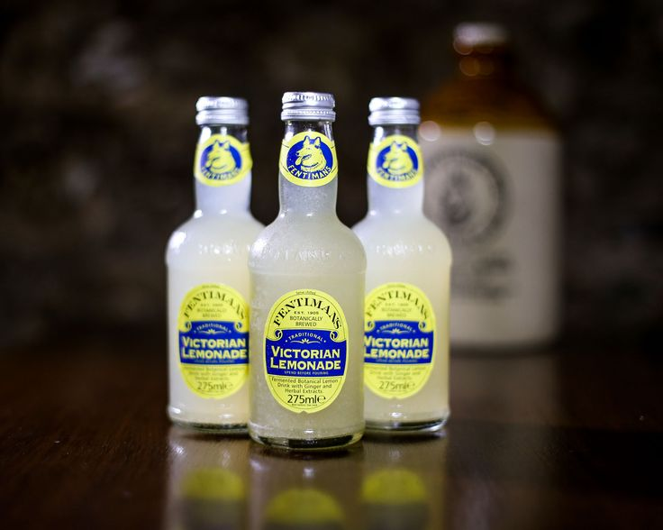 Fentimans delicious Victorian Lemonade - with the juice of 1.5 lemons in every bottle!