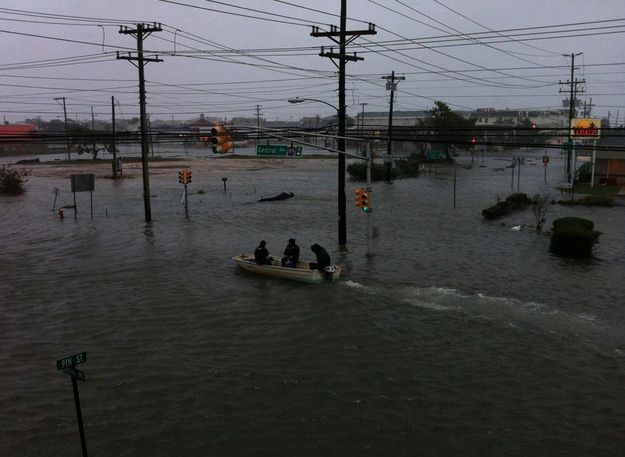 Ship Bottom | 25 Incredible Pictures Of Hurricane Sandy's Destruction In New Jersey
