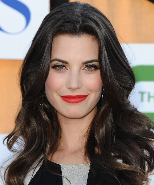 Meghan Ory Hairstyle - Casual Long Wavy. Click on image to try on this hairstyle and view styling steps!