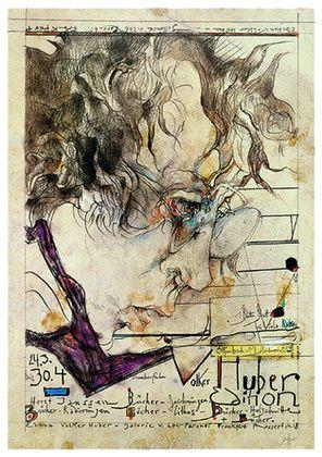 Horst Janssen - Huber Edition Selfportrait