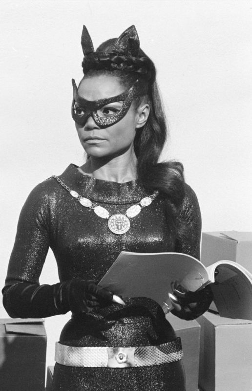 Eartha kitt. Catwoman off the batman series .and yzama from Emperors new groove